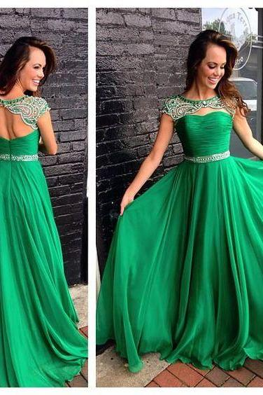 Backless Prom Dresses,Green Prom Gowns,Green Prom Dresses, Party Dresses,Long Prom Gown,Prom Dress,Sparkle Evening Gown,Sparkly Party Gowns