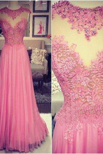 Round Neck Prom Dresses,Beading Evening Dress,See-through Long Prom Dresses,Evening Dress,Tulle short prom Dress,A-Line Evening Dresses,Beading Prom Dresses, Cocktail Dresses, formal dresses,Wedding guests dresses
