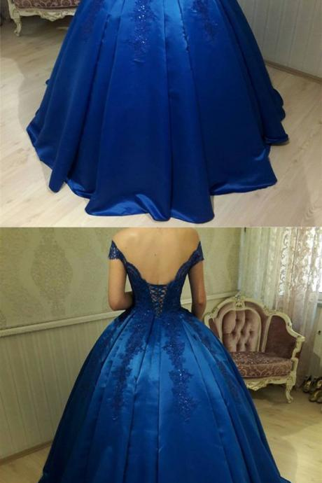 quinceanera dresses,New Arrival Prom Dress,Modest Prom Dress,royal blue quinceanera dress,ball gowns wedding dress