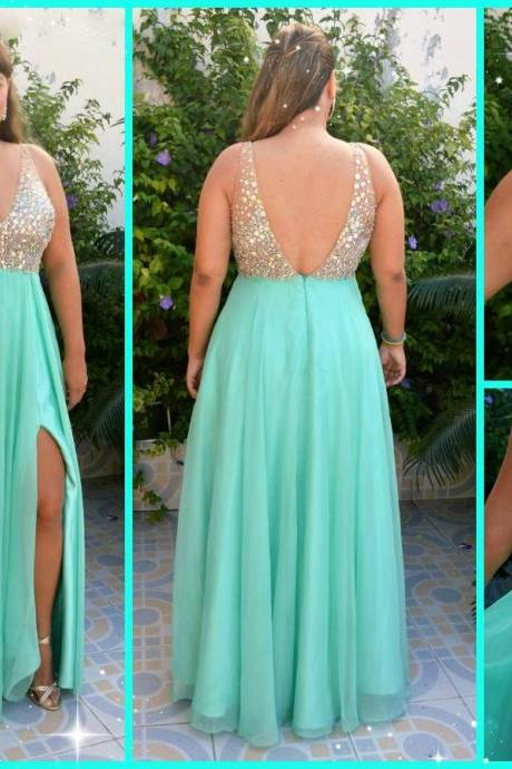 Long Evening Dresses,A line Prom Dress,Blue Prom Dresses,Formal Evening Dress,Long Homecoming Dress,Simple Evening Gowns