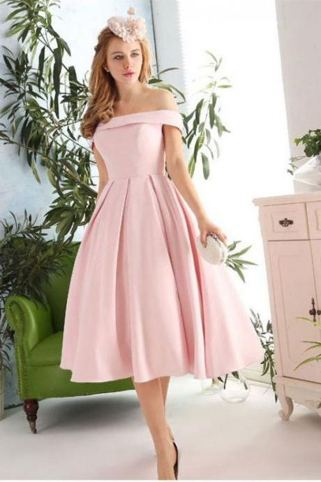 Pink Evening Gowns,off the shoulder Prom Dresses,Fashion Evening Gown,Beautiful Evening Dress,Pink Formal Dress,Prom Gowns