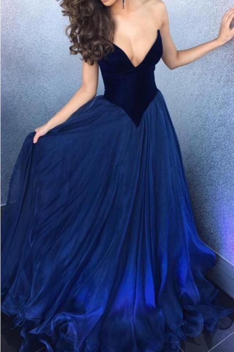 A Line Long Prom Dress, Evening Gown,Party Dresses, Evening Dresses
